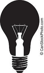 light bulb (classic light bulb)