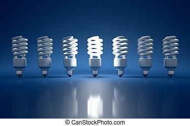 Light bulb - High Resolution 3d render of light bulb clipart...