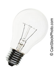 Light Bulb close up shot