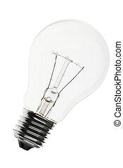 Light Bulb close up shot
