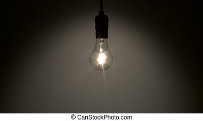 Light bulb fades