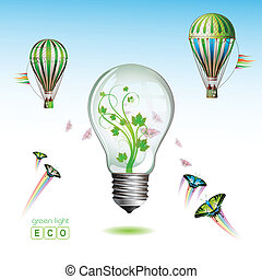 Light bulb for eco