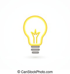 Light bulb icon logo