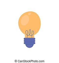 light bulb icon vector design