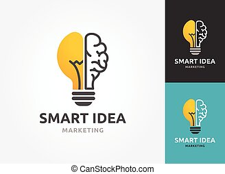 Light bulb - idea, creative, technology icons