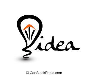 light bulb idea design