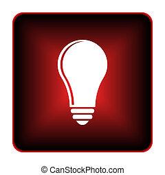 Light bulb - idea icon
