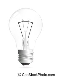 Light bulb illustration - Light bulb vector illustration...