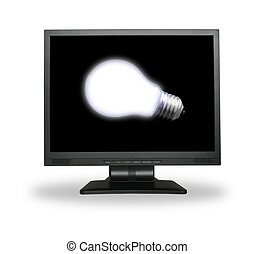 light bulb in lcd screen #2