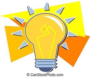 Light Bulb - Light bulb design.