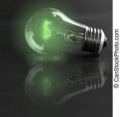 light-bulb money-sign (energy costs)