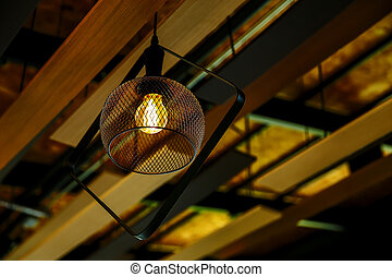 Light Bulb, Retro Style, Electric Lamp, Old-fashioned, Lighting Equipment