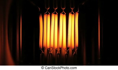 Light Bulb Slow motion - Light bulb of a 8mm film projector...
