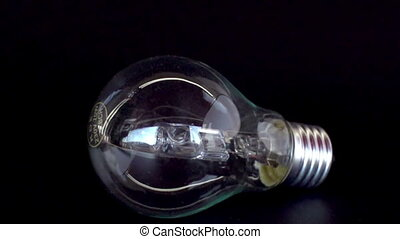 Light bulb smahsed with a hammer shot in super slow motion...