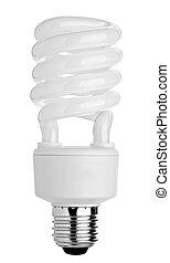 light bulb spiral electricity