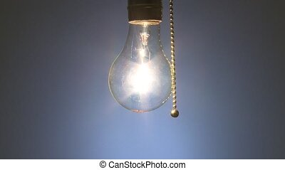 Light bulb turned off