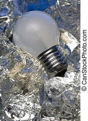 Light bulbs are gone