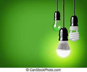 light bulbs - hanging tungsten light bulb, energy saving and...