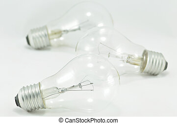 Light Bulbs on Isolated, Two heads are better than one