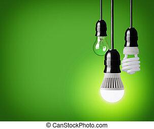 light bulbs - hanging tungsten light bulb, energy saving and...