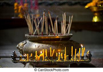 worship the buddha