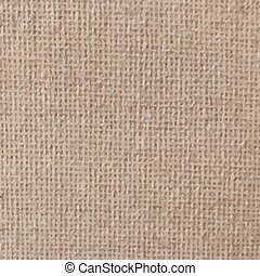 Light canvas texture. sackcloth bagging Vector illustration