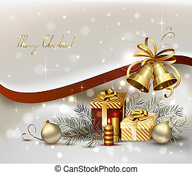 Christmas background - light Christmas background with ...