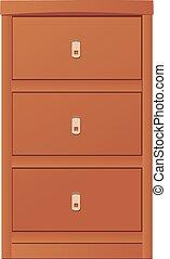light-coloured cupboard