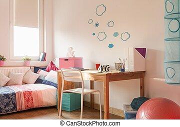 Light cozy room