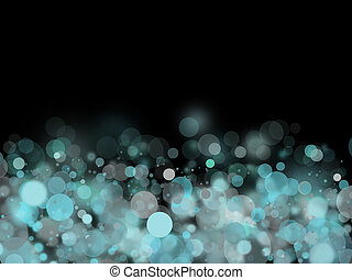 Light Cyan bubbles background - Abstract background for...