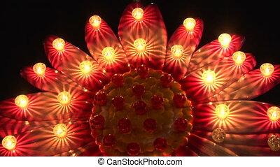 light decoration flower
