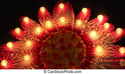 light decoration flower