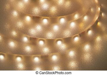 light emitting diodes - Light strip with light-emitting-...