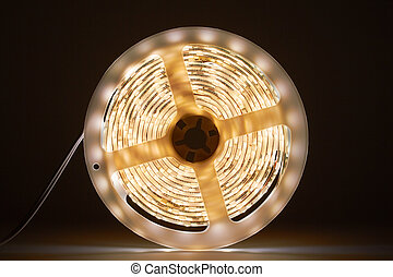 light emitting diodes - Three-meter-long light strip with ...
