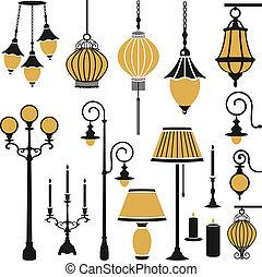 light equipment set