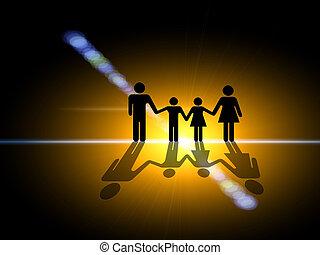 light., famiglia