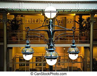 Light fixture - Art nouveau light fixture