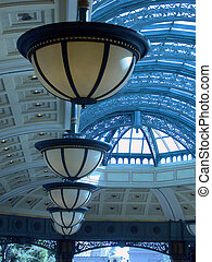 Light Fixtures in an Entrance