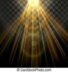 Light flare effect