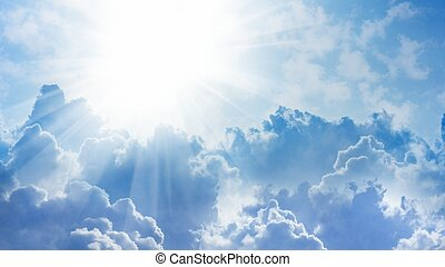 Light from heaven - 16x9 widescreen aspect ratio background...