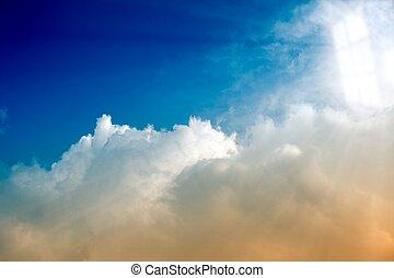 Light from heaven window