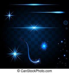 Light glow flare effects
