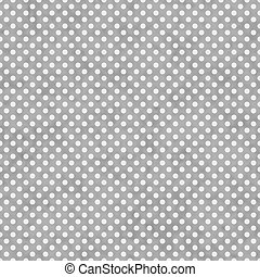 Light Gray and White Small Polka Dots Pattern Repeat...