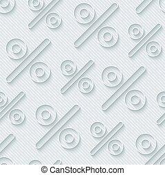 Light gray percent symbols wallpaper.