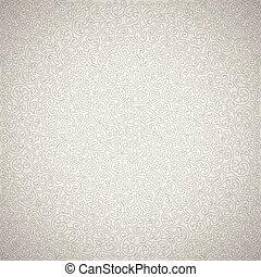 Light gray swirl texture. Vector background.