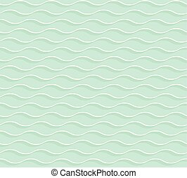 light green 3d geometric pattern