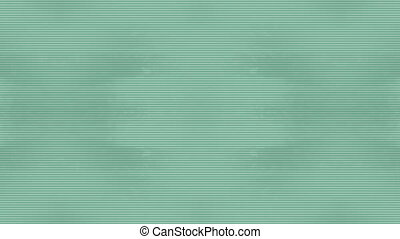 Light green abstract lines looping