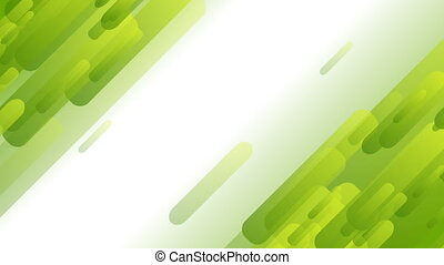 Light green abstract tech geometric motion design