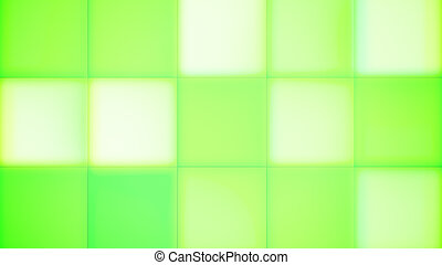 Light Green and White Square Led Buttons