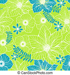 light green blue seamless pattern